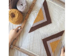 Aprende a tejer un tapiz